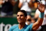 """R.Nadalis iš """"Roland Garros"""" turnyro eliminavo vietinių sirgalių numylėtinį"""