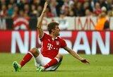 """""""Bayern"""" praradimas: T.Mulleris praleis Čempionų lygos akistatą su """"Liverpool"""""""