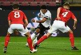 Tautų lyga: 6 įvarčių fiesta baigėsi Vokietijos ir Šveicarijos rinktinių lygiosiomis