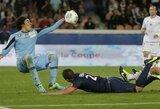 """Antgamtinis """"Ajaccio"""" vartininko šou privertė PSG klubą tenkintis lygiosiomis, """"Monaco"""" iškovojo užtikrintą pergalę"""