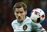 Smūgis Belgijai: J.Vertonghenui čempionatas baigėsi