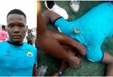 Tragedija Nigerijoje: futbolininkų susidūrimas baigėsi mirtimi, greitosios pagalbos automobilis neužsivedė