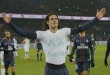 """PSG šventė pergalę, bet """"Nice"""" vis dar pirmoje vietoje"""