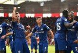 """""""Chelsea"""" vietiniame čempionate iškovojo triuškinamą pergalę"""