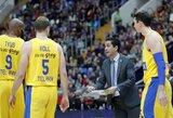 """""""Maccabi"""" treneris: """"Žalgirio"""" komanda yra pakilime"""""""