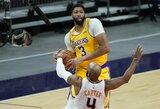 """""""Lakers"""" pergalės fone: nesulaikomas A.Davisas ir pergalingas metimas"""