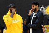 NBA reguliarųjį sezoną atidarys dvejos intriguojančios rungtynės