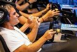 Virtualiose lenktynėse autosporto žvaigždės neprilygo esporto žaidėjams