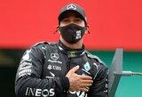 """Per paskutines 79 lenktynes tik kartą nefinišavęs L.Hamiltonas: """"Tai nėra atsitiktinumas"""""""