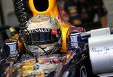 """S.Vettelis: """"Šeštoji vieta nėra blogas pasiekimas"""""""