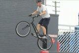 Beprotiškas pasivažinėjimas dviračiu