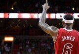 """L.Jamesas sutiktų nutraukti sutartį su """"Heat"""" dėl 10 metų trukmės kontrakto"""