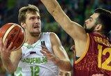 Slovėnija C grupėje užėmė trečiąją vietą, o makedonams čempionatas jau baigtas