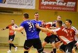 Lietuvos rankinio čempionato lyderiai vis keičiasi