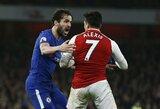 """Emocingame Londono derbyje - rezultatyvios """"Arsenal"""" ir """"Chelsea"""" lygiosios"""