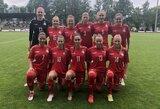 Baltijos taurėje moterų futbolo rinktinė užėmė antrą vietą