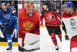 Pasaulio ledo ritulio čempionato pusfinalio poros: pristatymas ir prognozės