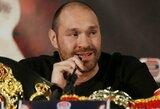 """T.Fury apsisprendė: """"Kova prieš V.Kličko – paskutinė mano karjeroje"""""""