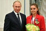 V.Putinas pakurstė olimpinio skandalo aistras: pateikė ironišką komentarą apie teisėjavimą