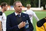"""LFF atsitvėrė tylos siena: jaunimo rinktinės treneris """"slapta"""" jau dirba naujame klube"""