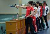 Europos jaunimo šaudymo sporto čempionate G.Rankelytė nepateko į finalą