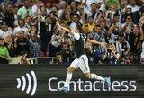 """""""Juventus"""" ir """"Inter"""" akistata: M.De Ligto įvartis į savus vartus ir į pergalę vedęs C.Ronaldo"""