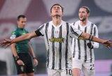 """P.Dybala: """"Apie sutartį su """"Juventus"""" buvo prikalbėta daug melo"""""""