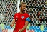 Baudinių seriją laimėjusi Anglija išsiuntė Kolumbiją į namus