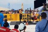 Lemiamą rungtį dramatiškai pralaimėjęs latvis liko už pasaulio galiūnų čempionato finalo borto