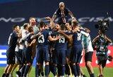 """PSG prezidentas: """"Nusipelnėme būti Čempionų lygos finale"""""""