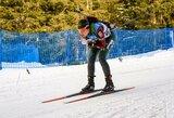 N.Kočergina pateko į pasaulio biatlono taurės persekiojimo lenktynes