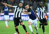 """""""Inter"""" susitikimą su """"Serie A"""" lygos autsaideriais baigė be įvarčių"""
