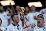 """S.G.Erikssonas: """"Anglams brazilai būtų lengvesniais varžovais, nei švedai"""""""