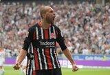 """B.Dosto debiutas """"Eintracht"""" gretose pažymėtas ir įvarčiu, ir pergale"""