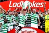 """Škotijos čempionatas – nutrauktas, čempionais paskelbti """"Celtic"""""""