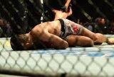 Neįtikėtina: UFC turnyre Denveryje – fantastiškas nokautas alkūne paskutinę sekundę