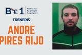Prie Be1 NFA trenerių štabo prisijungė dar vienas portugalas