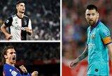 Top – 25: daugiausiai uždirbantys futbolininkai Čempionų lygoje