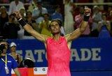 Abiejuose setuose atsilikęs R.Nadalis sugebėjo patekti į finalą