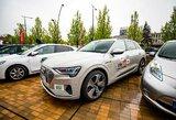 """Ralyje """"Aplink Lietuvą"""" propaguos ateities transportą – elektromobilius"""