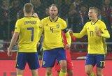 Tautų lyga: Švedijos futbolininkai išsivežė pergalę iš Turkijos