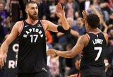 """Planas, kaip """"Raptors"""" su J.Valančiūno pagalba galiausiai gali eliminuoti L.Jamesą ir """"Cavaliers"""""""