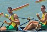Keturi Lietuvos irkluotojai pateko į pasaulio jaunimo čempionato A finalus