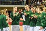 Lietuvos moterų rinktinė po atkaklios kovos nusileido vengrėms