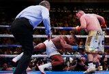 Aiškėja, kur ir kada turėtų įvykti A.Joshua ir A.Ruizo revanšinė kova