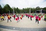 """Palangoje prasidėjęs festivalis """"Sportas visiems"""" kvies žmones bėgti už solidarumą ir taiką"""