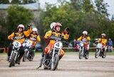 """Sezono starte – permainingas Skuodo """"Bartuvos"""" motobolininkų savaitgalis"""