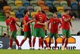 Tautų lyga: Be C.Ronaldo žaidusi Portugalija iškovojo triuškinamą pergalę, belgai susitvarkė su islandais