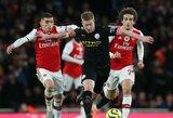 """Patvirtintas """"Premier"""" lygos tvarkaraštis: """"Man City"""" mūšis su """"Arsenal"""", """"Tottenham"""" akistata su """"Man Utd"""" ir laukiantis Liverpulio derbis"""