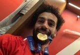"""Po triumfo Čempionų lygoje sunkiai žodžius rinkęs M.Salah: """"Visa komanda surengė puikų pasirodymą"""""""
